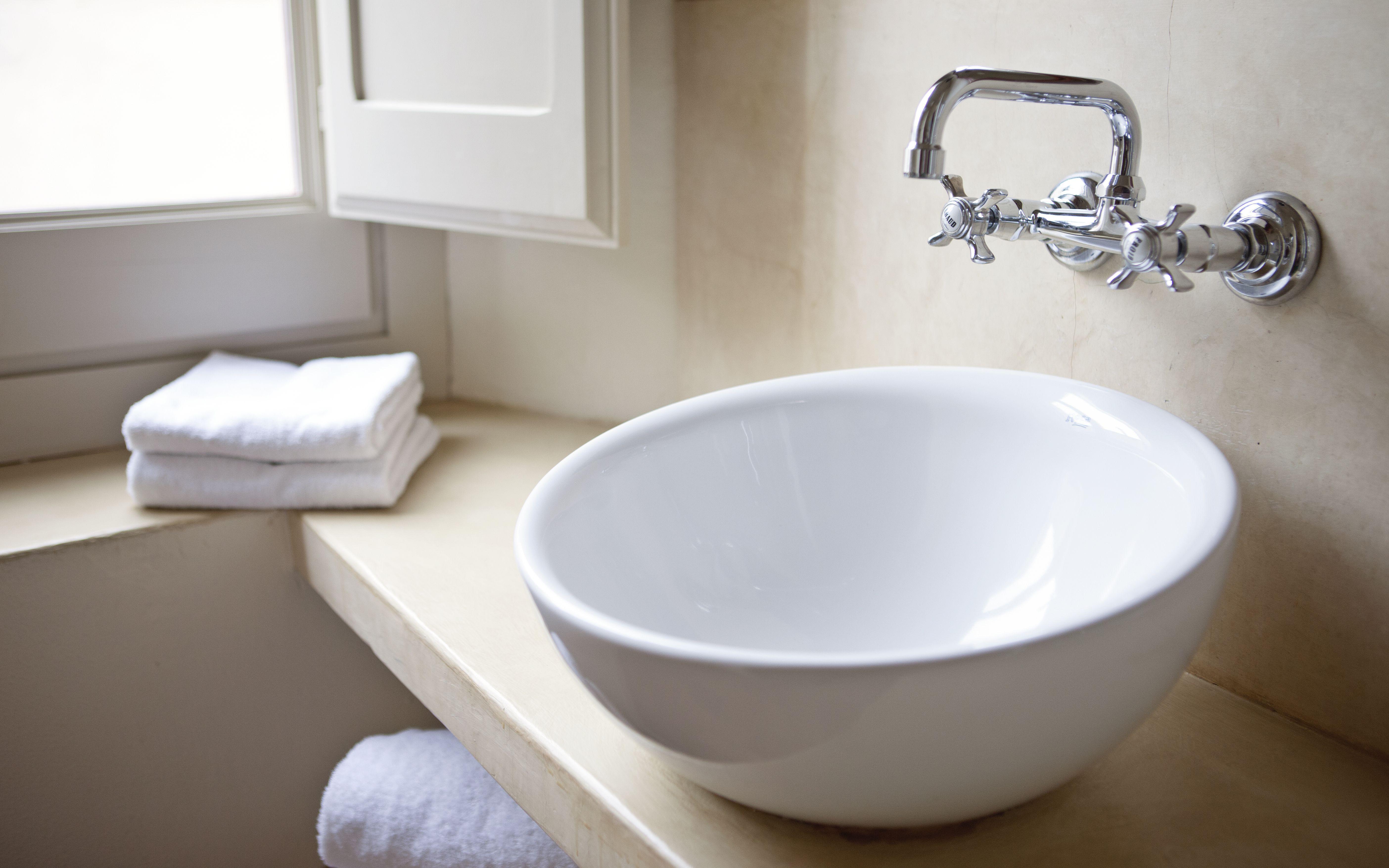 How To Install A Vessel Sink In A Bathroom Bathroom Sink Decor