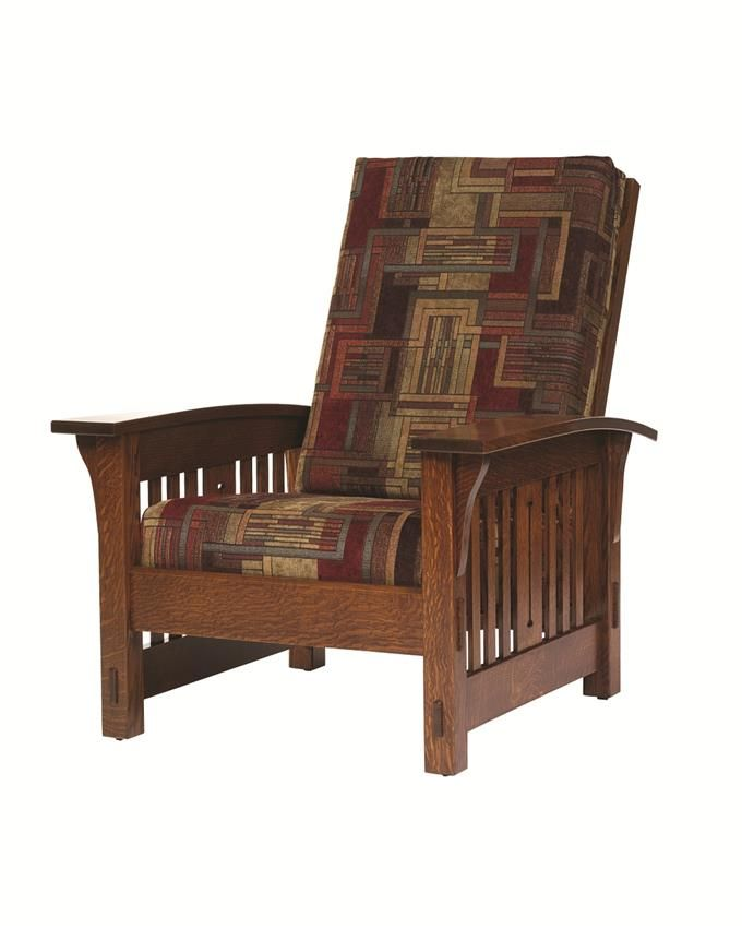 Amish Morris Mission Lounge Chair Morris Chair Furniture Amish Furniture