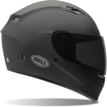 Bell Solid Adult Qualifier Street Bike Racing Motorcycle Helmet - Matte Black - Small, http://www.amazon.com/dp/B00HLUWKH8/ref=cm_sw_r_pi_awdm_Mwauvb11DZ14H