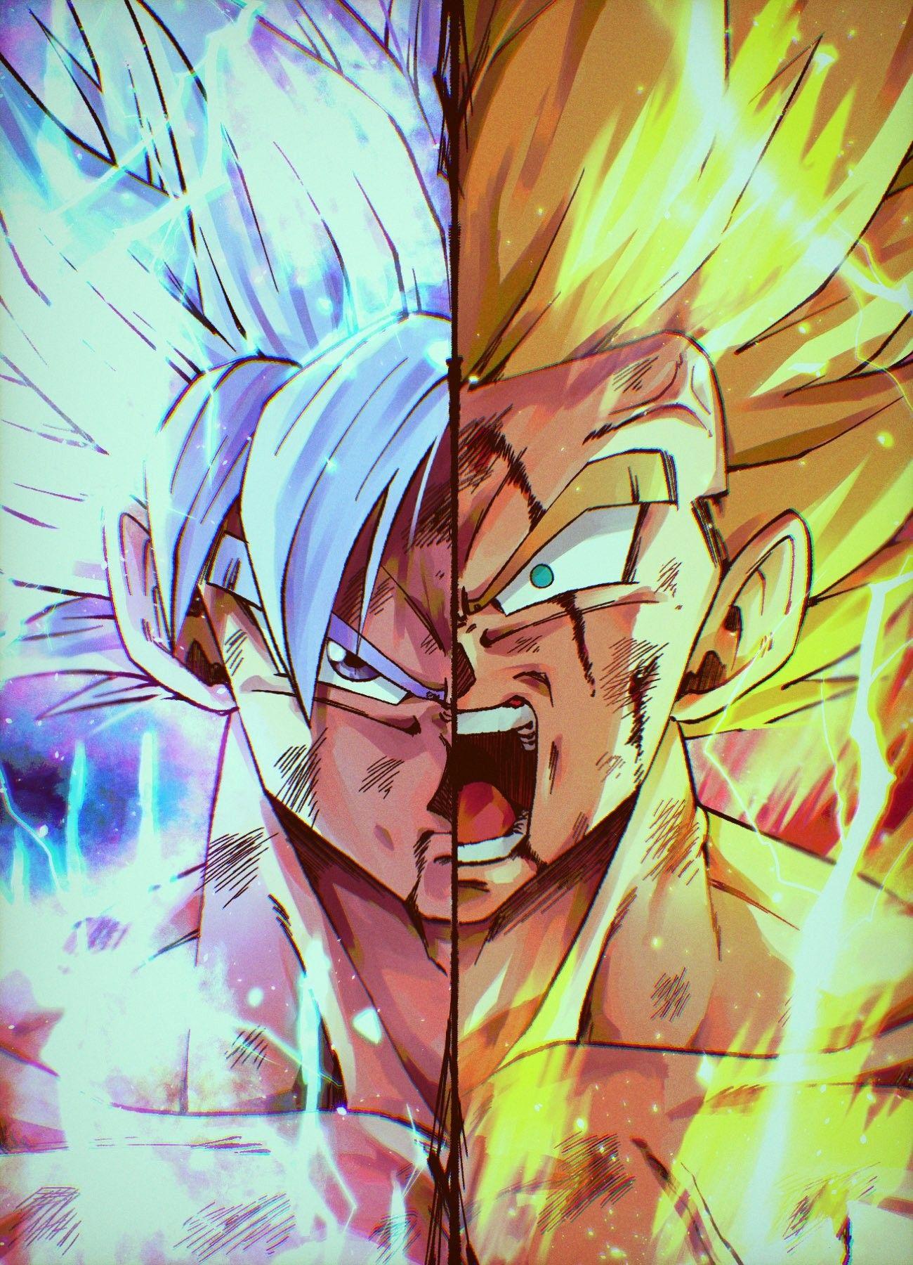 Goku MUI/SSJ 1