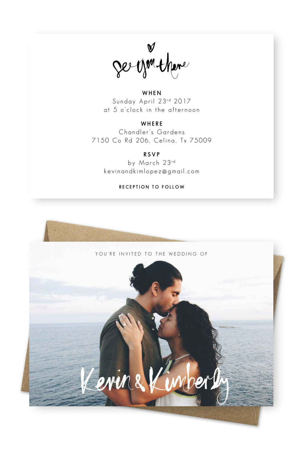 The Most Stunning Beach Wedding Invitation Ideas For You | Pinterest ...