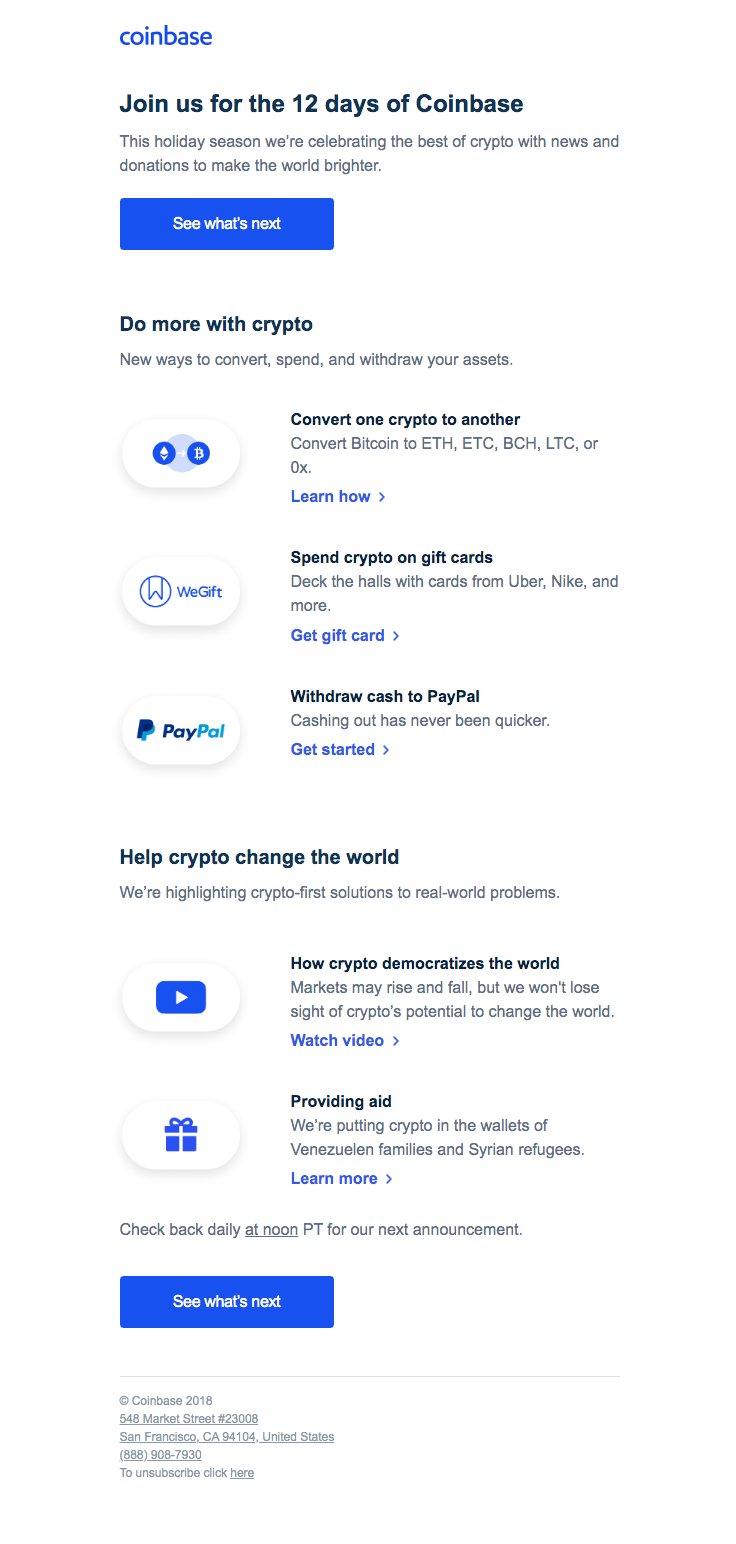 how to change coinbase email