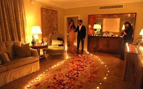 Romantic Room Decorations blog | romantic surprise, surprise engagement and room setup