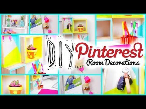 diy room decorations pinterest tumblr inspired youtube my room