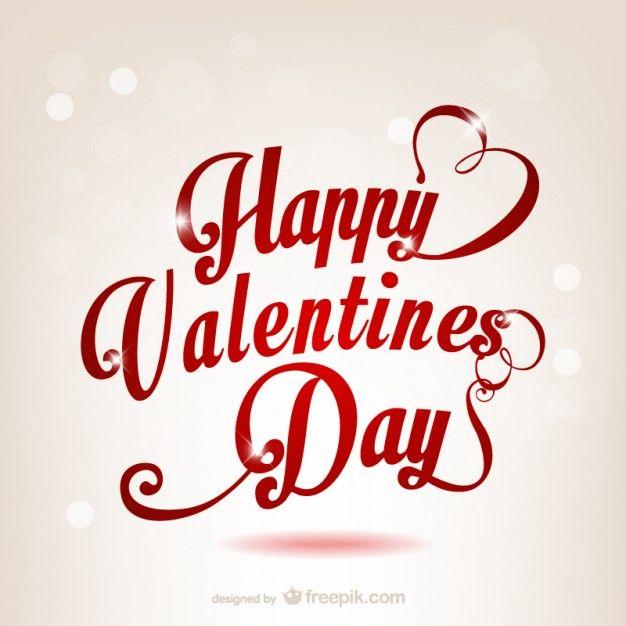 Happy Valentine\'s Day greeting | Happy Valentine\'s Day | Pinterest ...