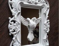 Divino em Moldura com Espelho 17 X 25 cm