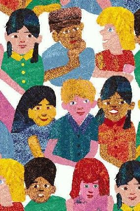 Children Fabric, Illustrated by Eric Carle