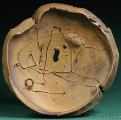 Voulkos (Peter), Charger, Anagama Fired, 20 inch, 1981