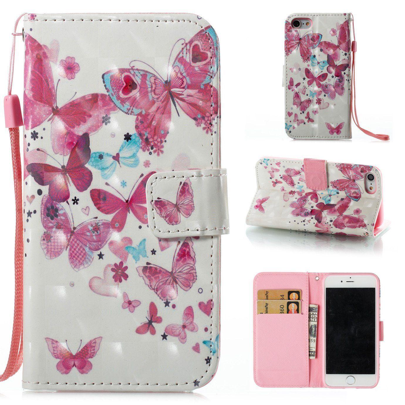 Folio Case iPhone 7 Plus Cases for Women 64083835d3