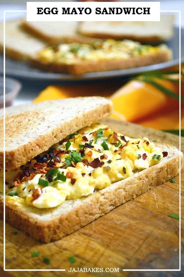 Egg Mayo Sandwich Jaja Bakes Jajabakes Com Resep
