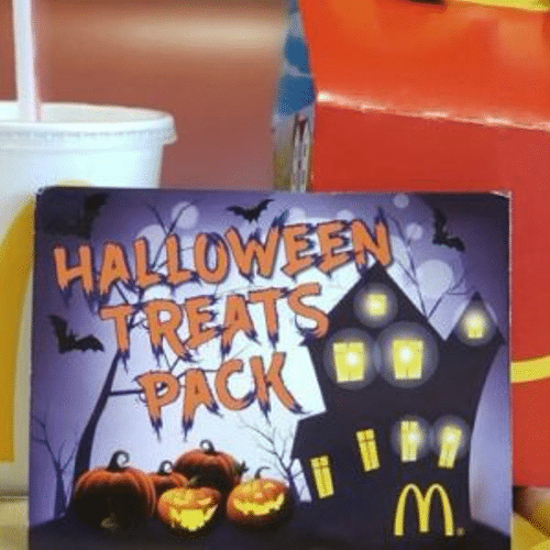 McDonald's 12 Free Items w/ 1 Halloween Booklet