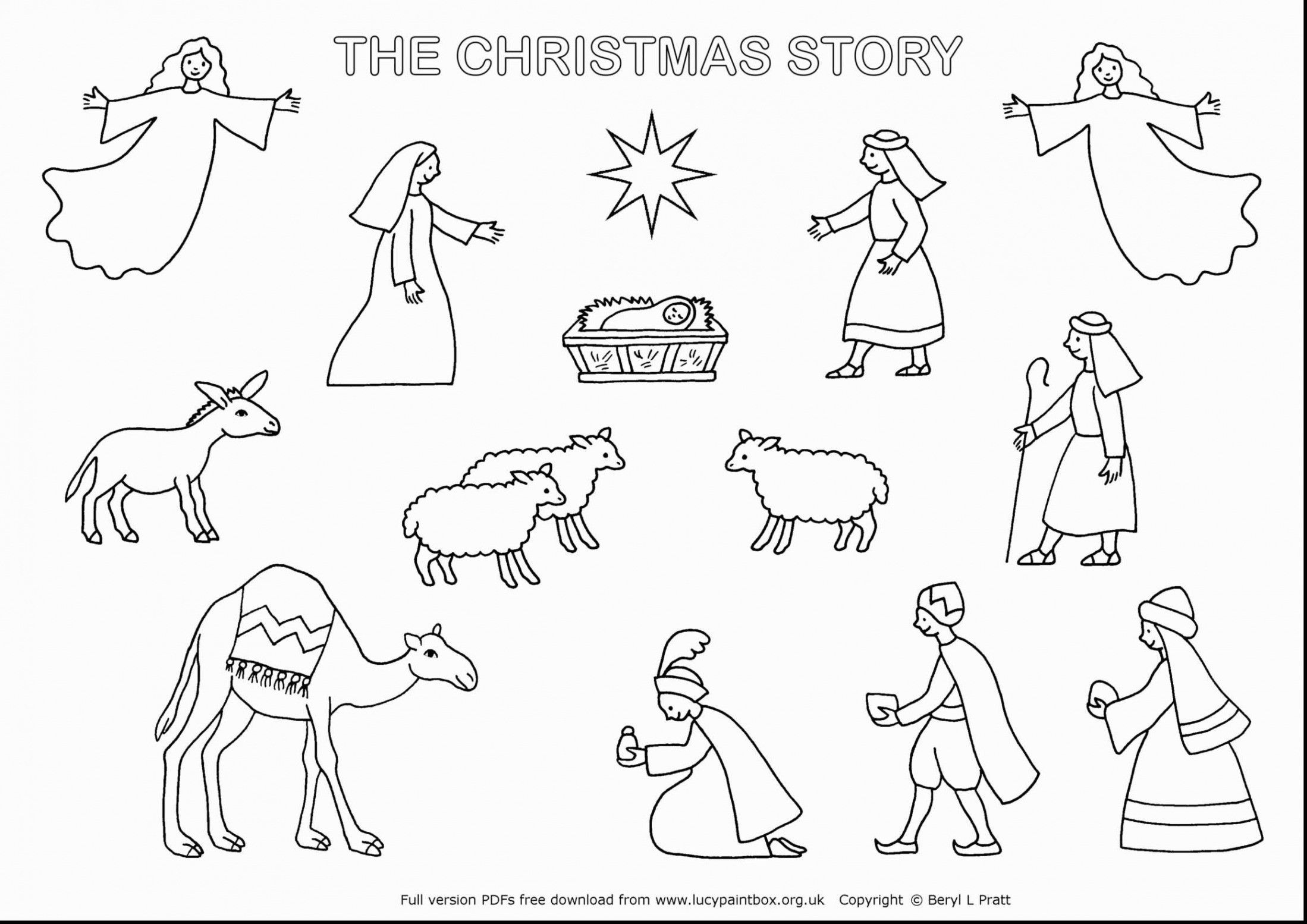 Image Result For Black And White Nativity Story Characters Nativity Coloring Pages Nativity Coloring Christmas Bible