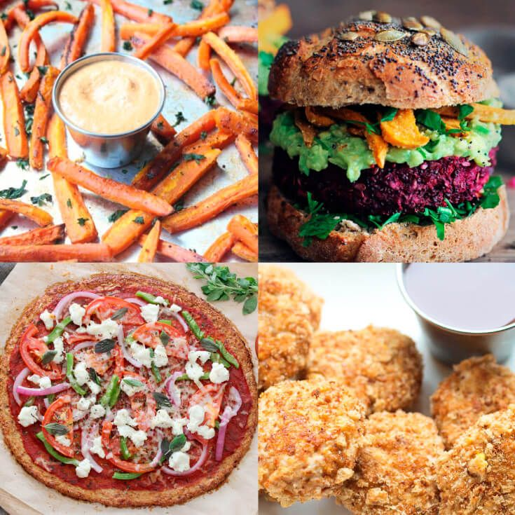 28 Healthiest Bad Foods Burgers Fried Chicken Fries And
