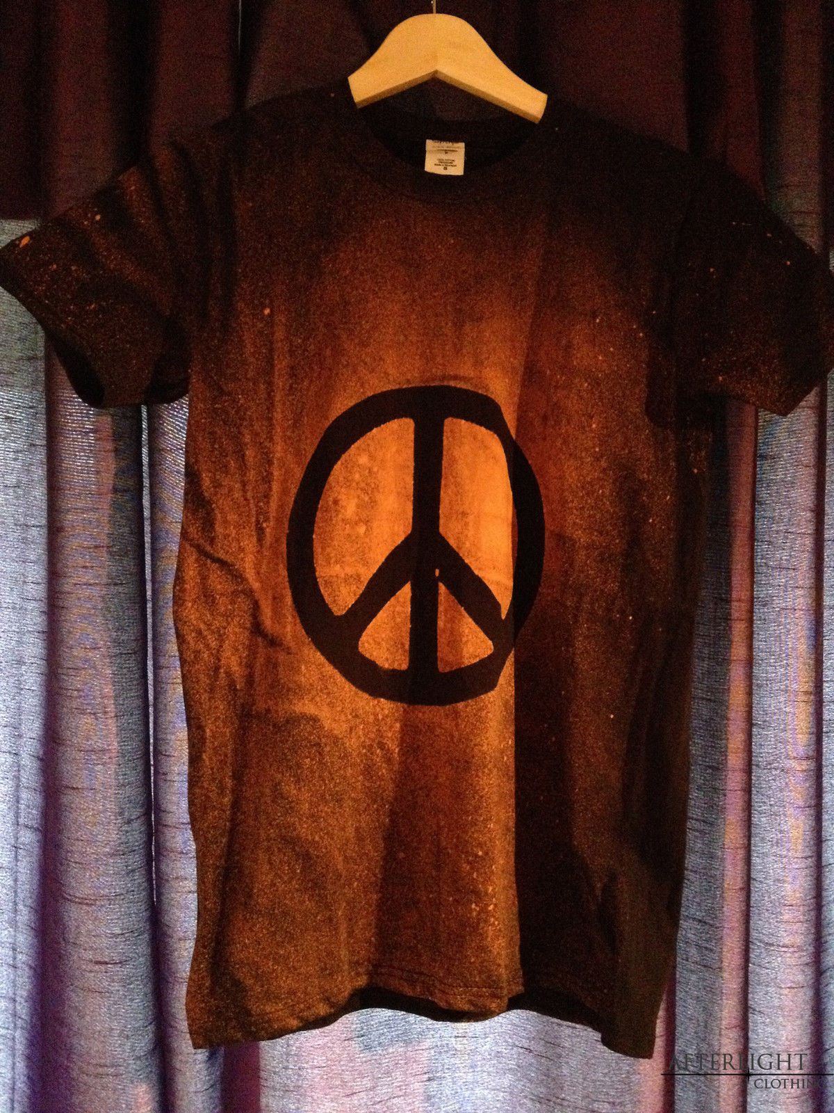 Acid wash grunge peace t shirt rock goth emo punk hippy hipster harmony is part of Clothes Hipster Peace -