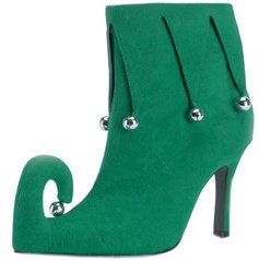Adult Womenu0027s Green Elf Costume Shoes (Size « Holiday Adds  sc 1 st  Pinterest & Adult Womenu0027s Green Elf Costume Shoes (Size: « Holiday Adds ...