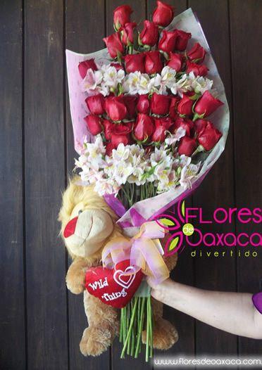Ramo Rosas Oaxaca Arreglos Florales Areglos Florales Y Ramos