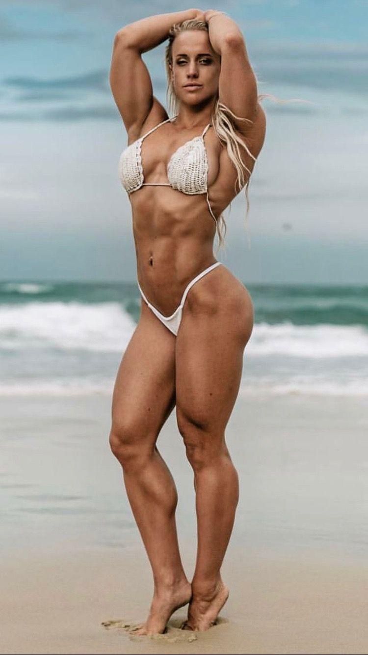 Muscular bikini women, porn today