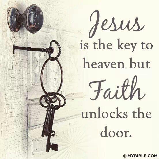 Thank God  he can unlock the door.
