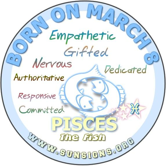 march 8 birthdays horoscope