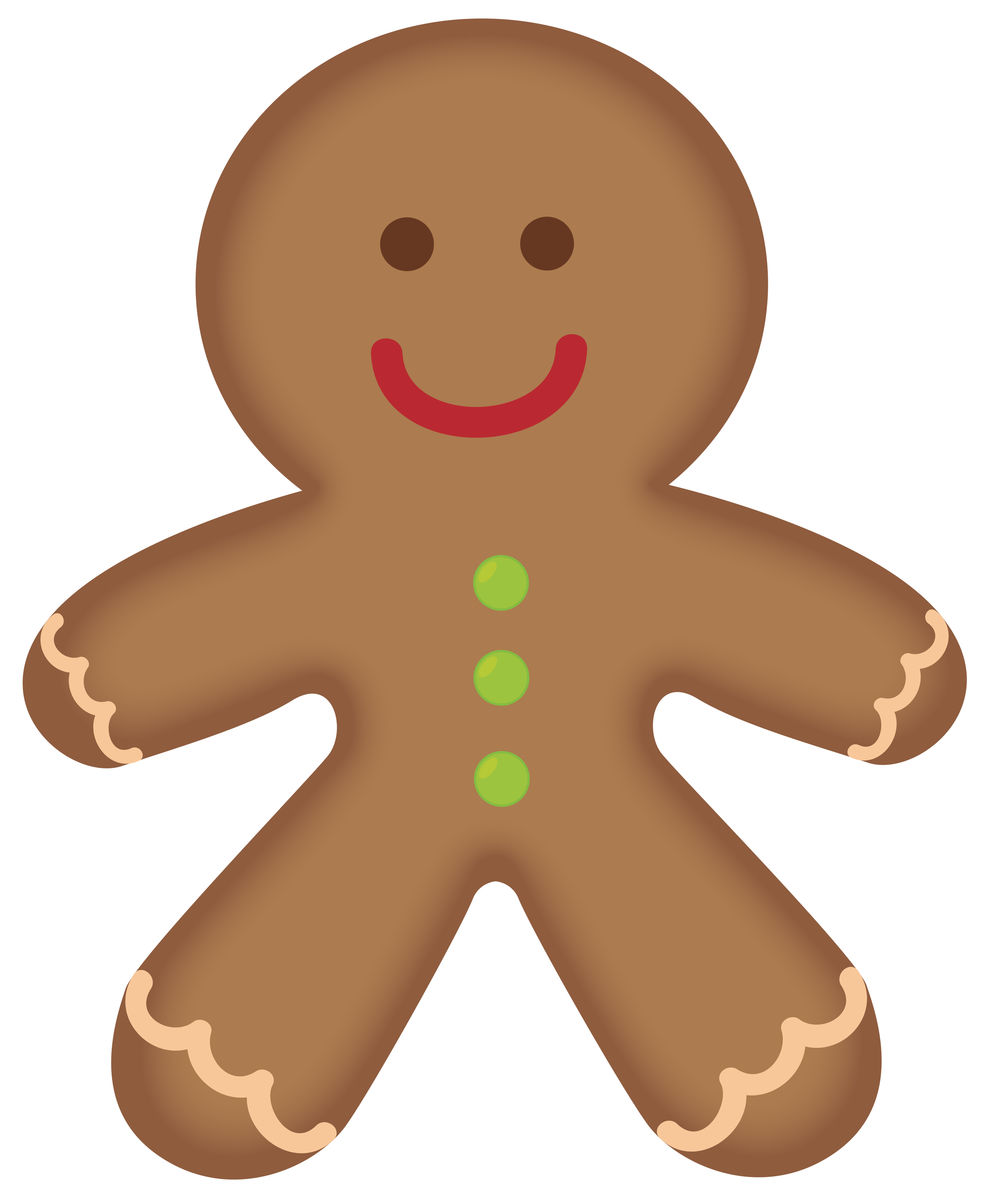 gingerbread man gingerbread men clipart web clipart clipartix rh pinterest co uk Christmas Gingerbread Man Candyland Gingerbread Man Clip Art