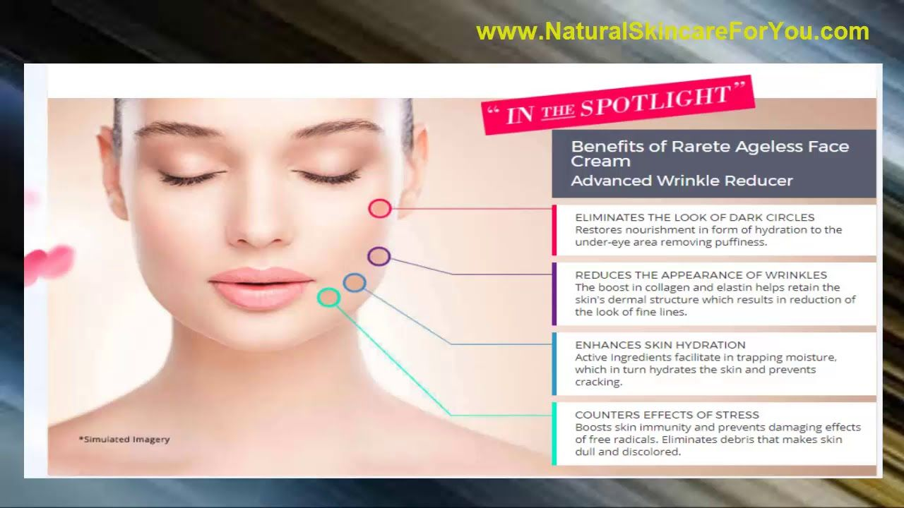 Rarete' Ageless Face Cream carries with it the results similar to the results … 8f453c3dd409f9f5c092b508f3ed206b