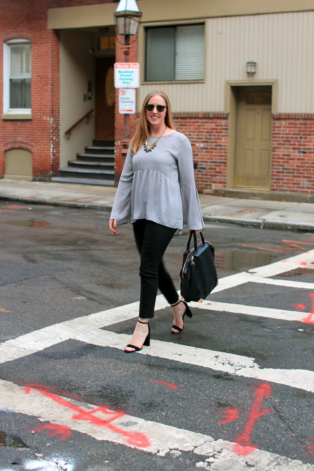 One Way Street // style-blueprint.com > boston style blogger; loft ...