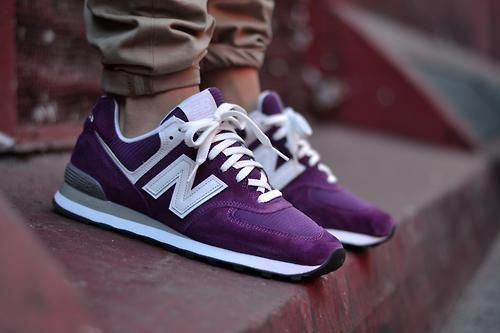 sweetsoles:    New Balance 574 ID (by mackdre775)