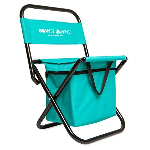 Super Mini Portable Folding Chair W Built In Cooler By Savvy Uwap Interior Chair Design Uwaporg