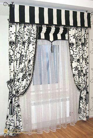 Pin de Graciela Elizabeth Gahn Llagaria en cortinas y cenefas