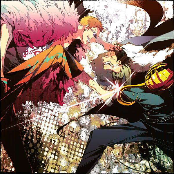 Doflamingo Vs Crocodile One Piece Images One Piece Manga Anime