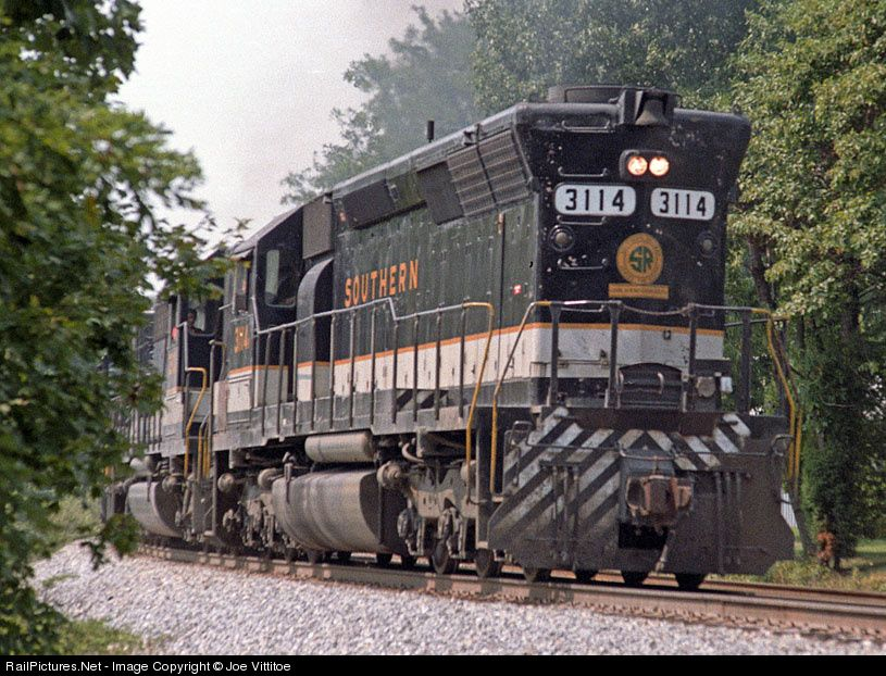 southern railway | ... location date of photo southern railway more emd sd45 more tucker more
