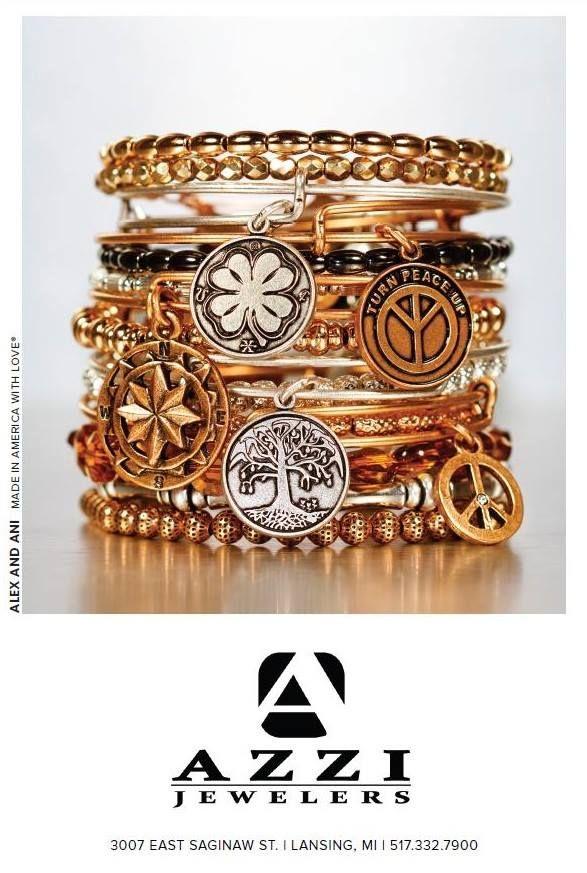 Azzi Jewelers Lansing Mi Jewels Stackable Bangles Alex And Ani Bracelets