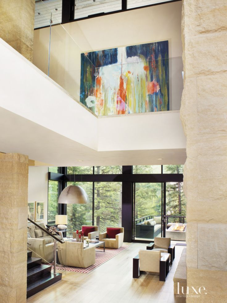 Architect Brian Judge Devised A Vail Home With Interiors By Designer Eddy Doumas To Create A