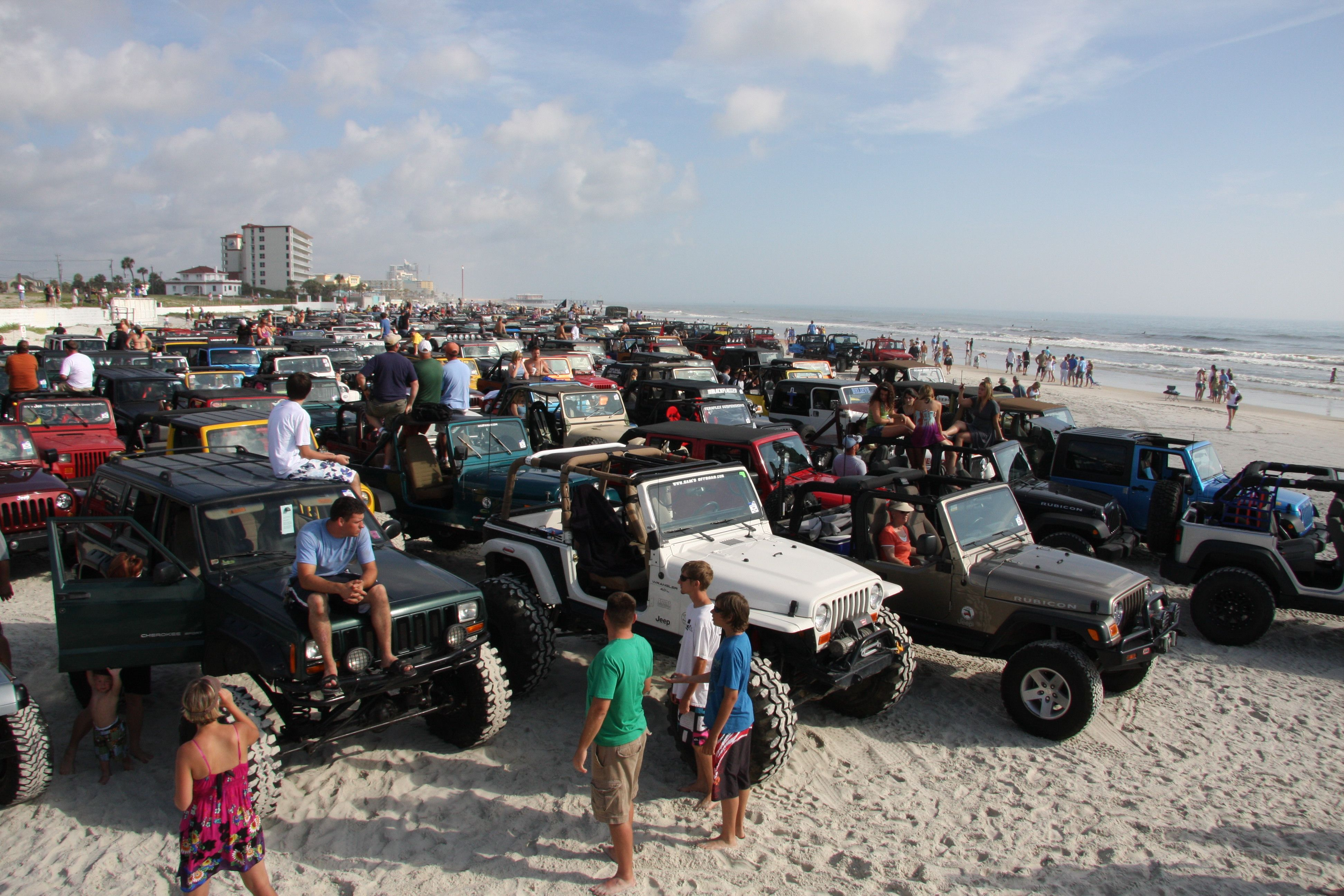 Attend Jeep Beach Florida Beach Jeep Jeep Owners Jeep Wrangler