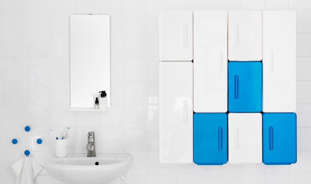 badezimmer eingerichtet u a mit lejen schr nken in unterschiedlichen ausf hrungen in wei und. Black Bedroom Furniture Sets. Home Design Ideas