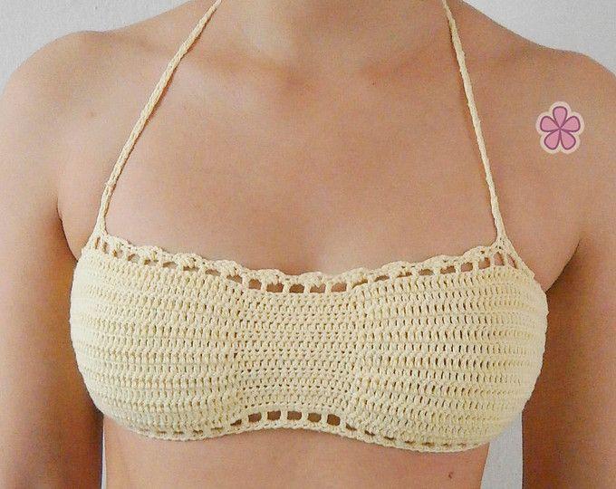 1 pattern FREE. 4 crochet bikini tops PDF crochet patters. 3 ...