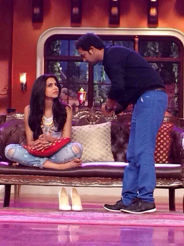 Deepika Padukon Comedy Nights With Kapil Comedy Nights Deepika Padukone