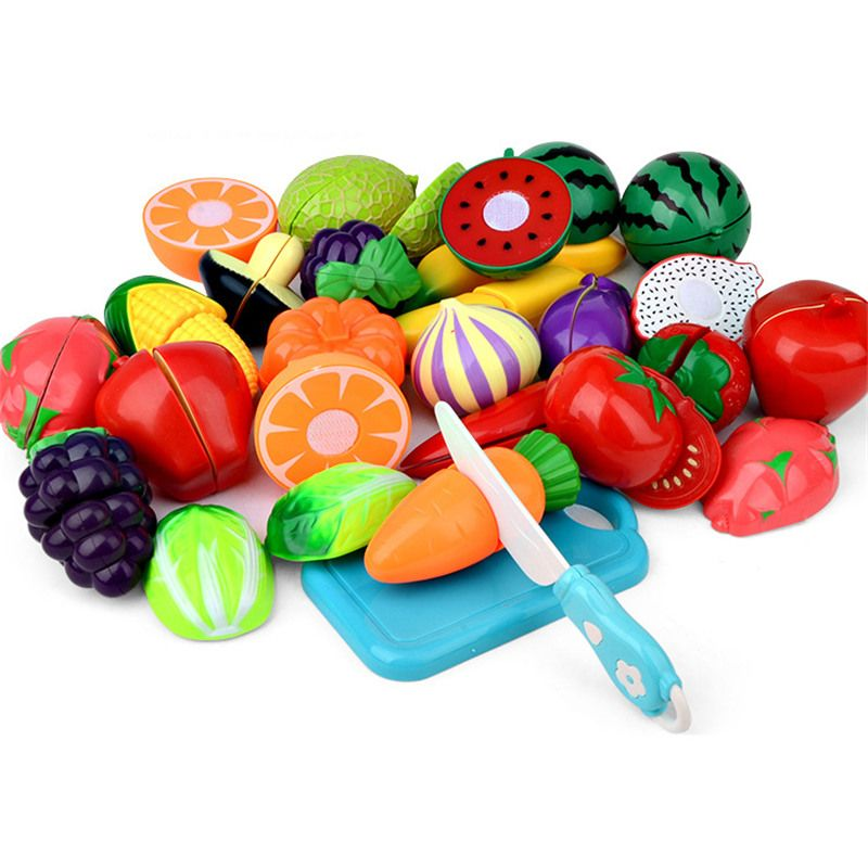 Täuschen Spiel-küche Spielzeug Kunststoff Küche Lebensmittel Obst - kinder spiel k chen
