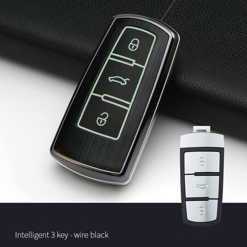 Car Accessories Car Key Bag Aluminium Alloy For Volkswagen Vw Passat Cc B6 B7 B7l Cc R36 Maogotan B5 Passat Review Vw Passat Cc Passat Cc Volkswagen Cc