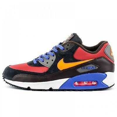 Nike Air Max 90 Winter Premium Mens 683282 600 Red Black