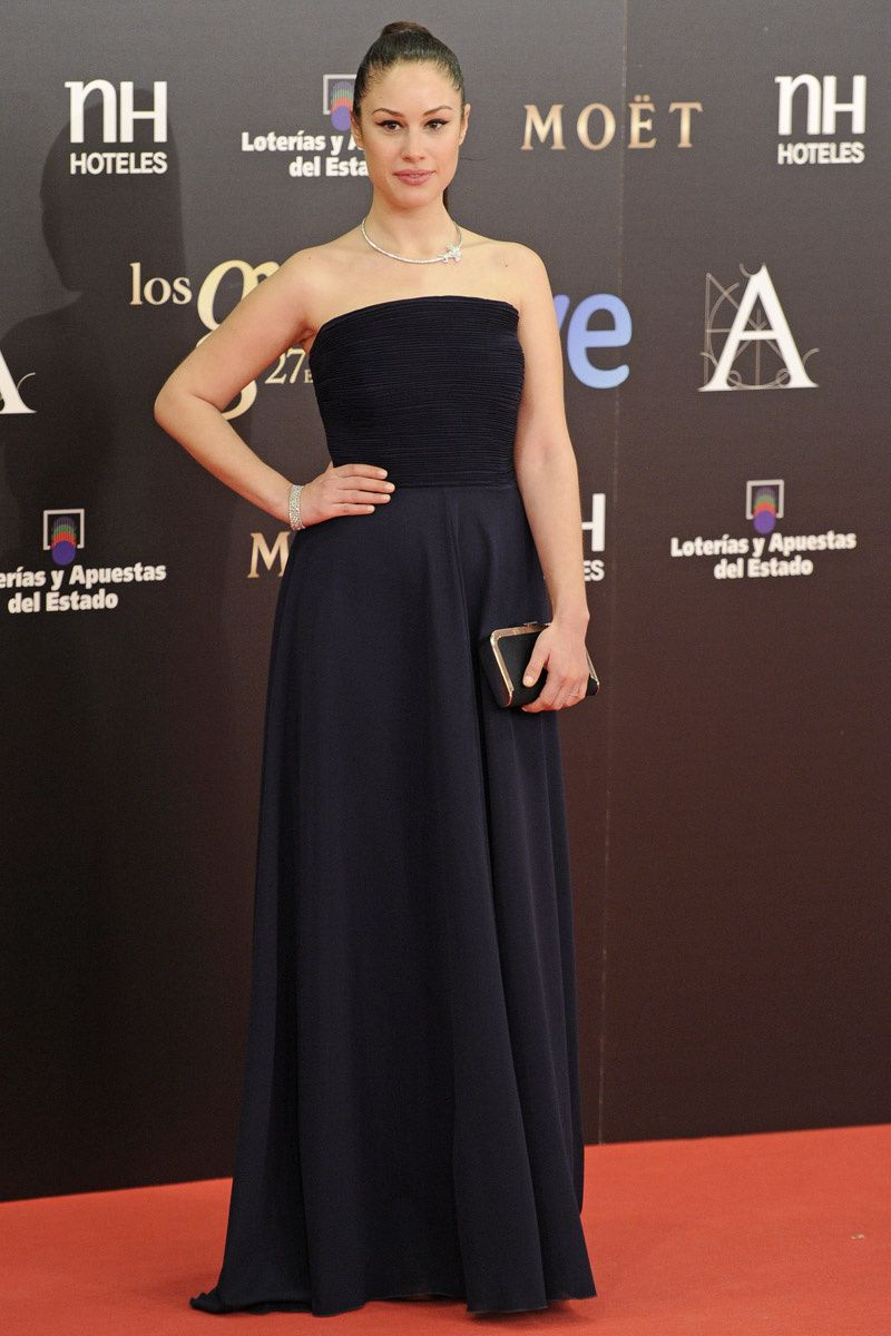 The 2013 Goya Awards Strapless Dress Formal Dresses Fashion