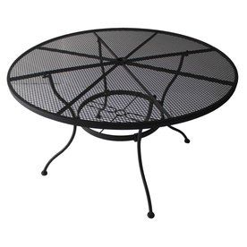 Davenport Patio Furniture.Davenport Black Round Patio Dining Table Hit The Deck In 2019