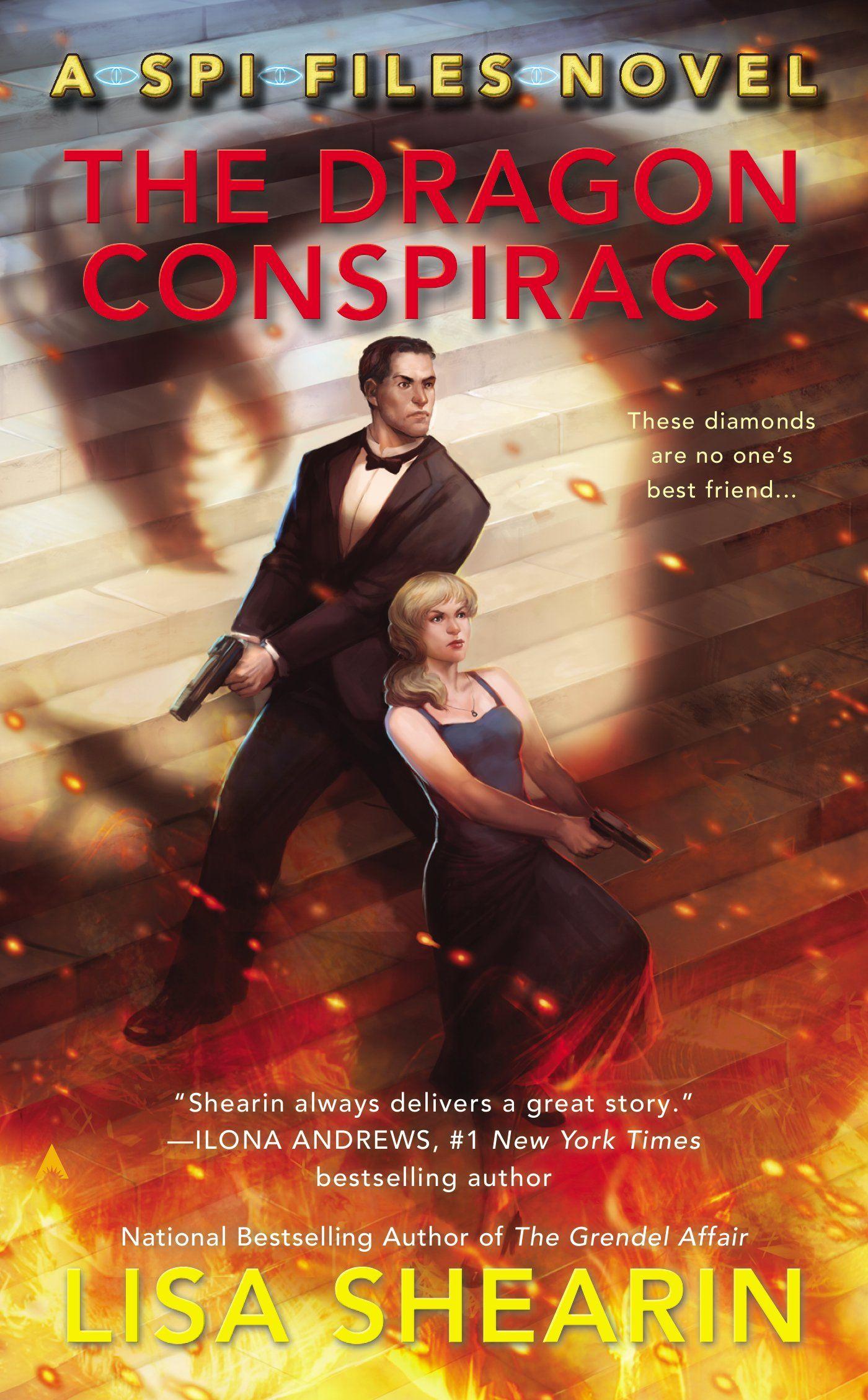 The Dragon Conspiracy (SPI Files #2) by Lisa Shearin | January 27, 2015 | Ace