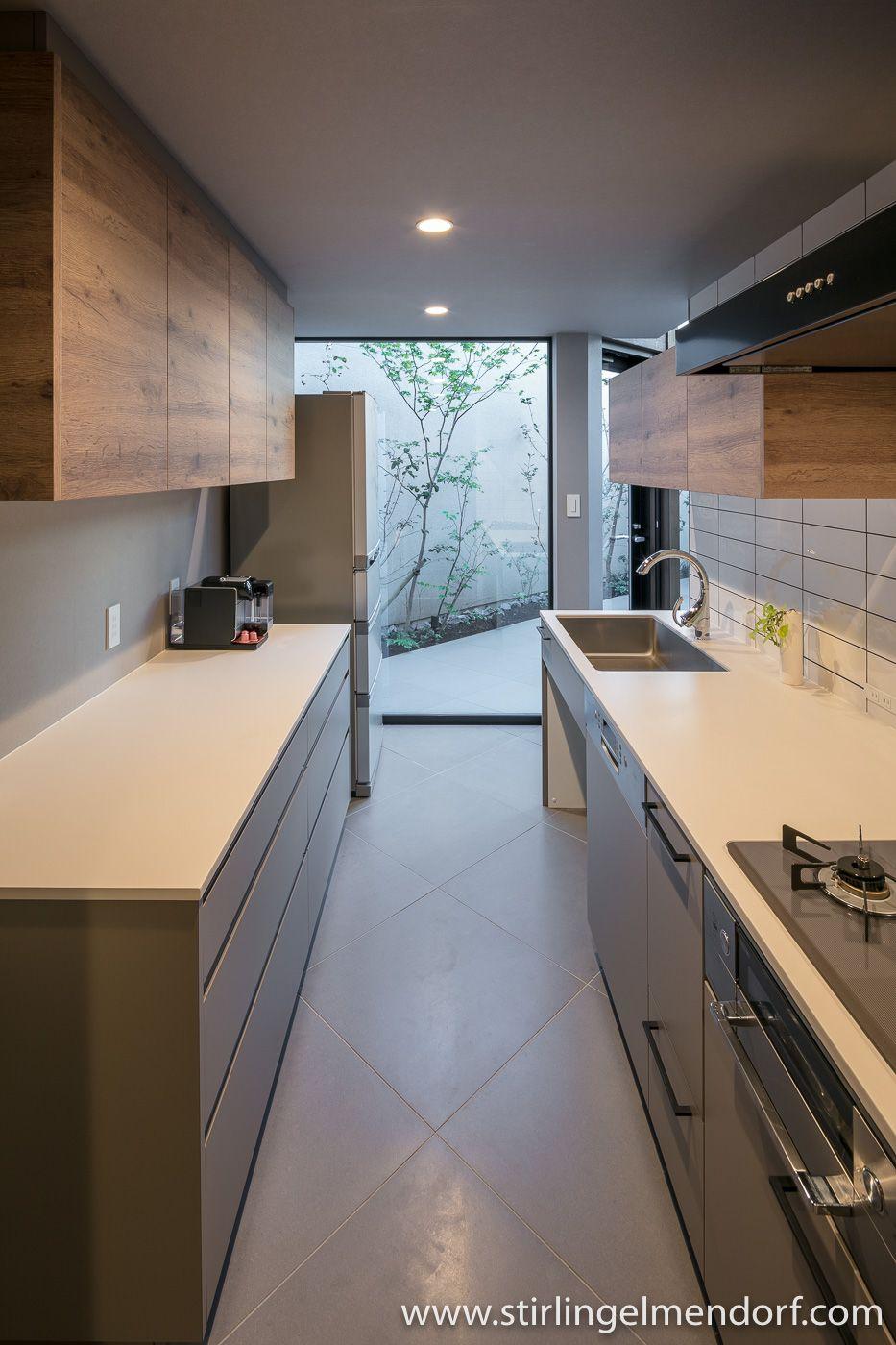 Tarumi House By Fujihara Architects Cocinas Interiores