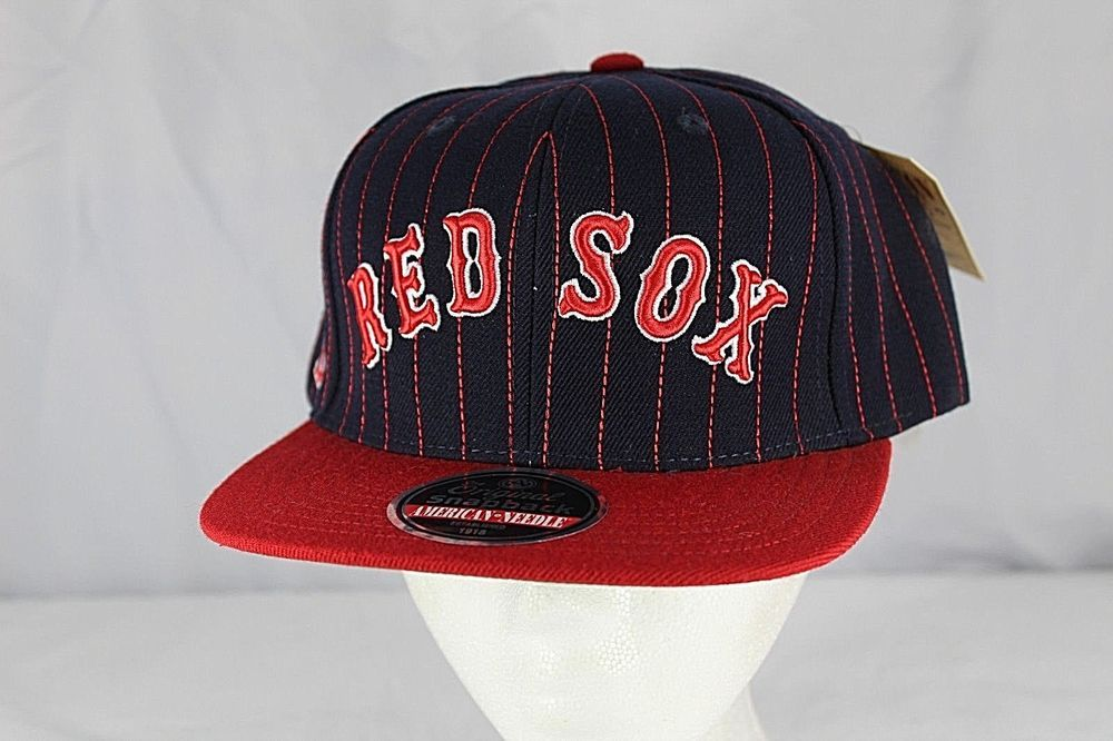 Boston Red Sox Black/Red MLB Baseball Cap Snapback NWT