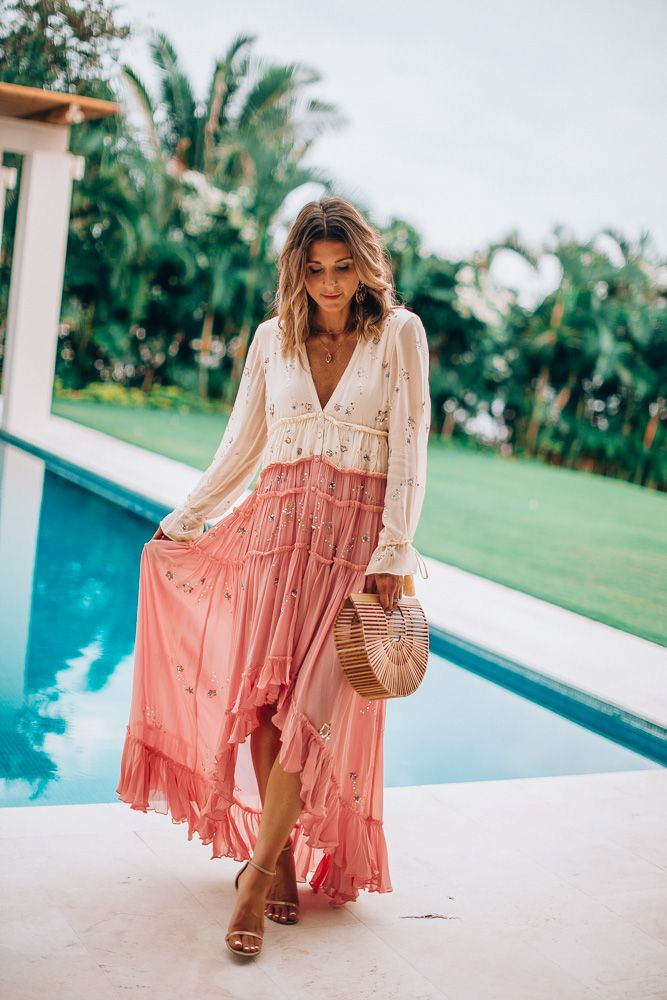 Beach Vacation Outfits: What I Wore #vacationoutfits
