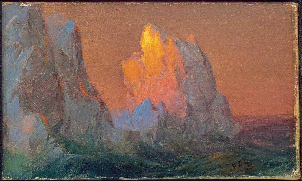 Niagara Falls by Frederick Edwin Church Giclee Fine ArtPrint Repro on Canvas