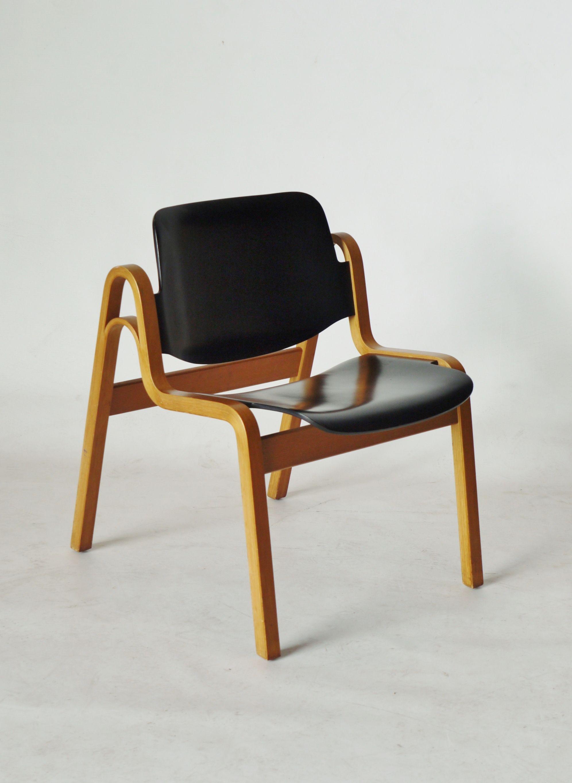 1 of 4 Illmari Tapiovaara 1960s 'Wilhelmina' chair W