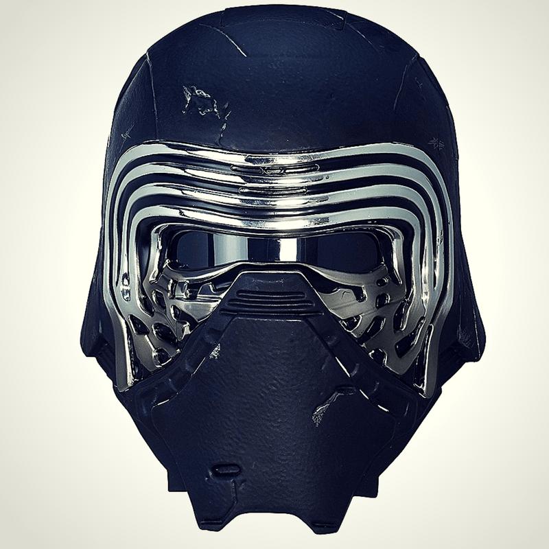 Feel The Dark Side With Anovos Amazing Kylo Ren Helmet First Look Starwars Com Kylo Ren Helmet Star Wars Helmet Star Wars Kylo Ren