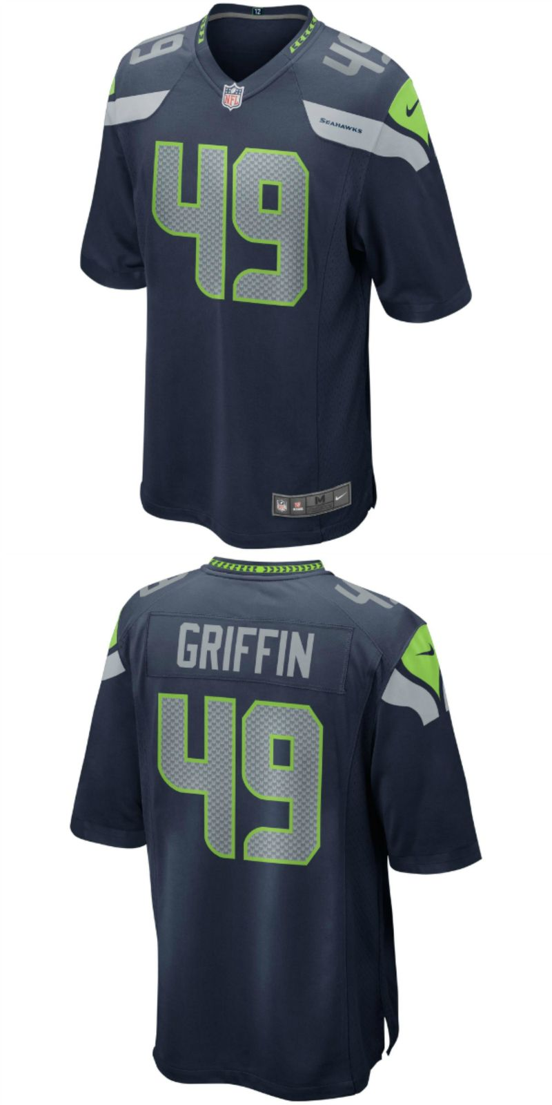 reputable site 41478 dec80 UP TO 70% OFF. Shaquem Griffin Seattle Seahawks Nike 2018 ...